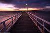 Pre-Dawn Greets Point Lonsdale Pier, Victoria