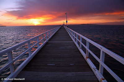 Point Lonsdale Pier Awakens, Victoria
