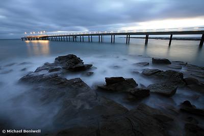 Lorne Pier Pre-Dawn, Great Ocean Road, Victoria, Australia