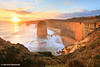 Twelve Apostles Sunset, Great Ocean Rd, Victoria, Australia