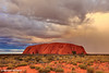 Ayers Rock (Uluru) Sunset, Northern Territory, Australia
