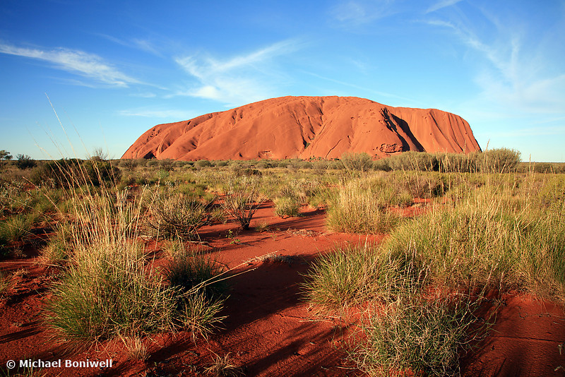 Ayers Rock (Uluru), Late Afternoon, NT, Australia