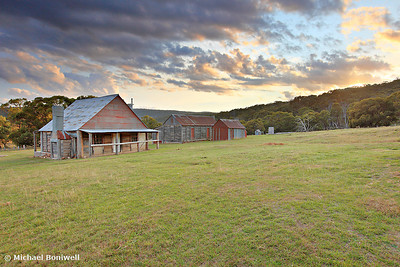 Coolamine Homestead Morning, Kosciusko National Park, NSW, Australia