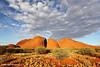 The Olgas (Kata Tjuta), Sunset, Northern Territory, Australia