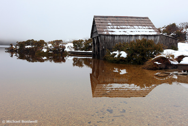 Dove Lake Boat Shed, Cradle Mountain National Park, Tasmania, Australia