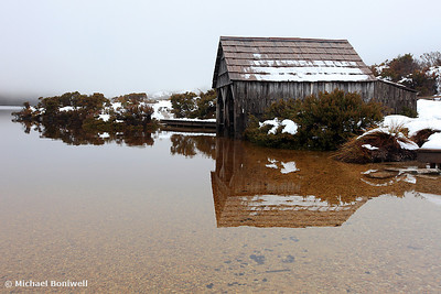Dove Lake Boat Shed, Cradle Mountain National Park, Tasmania, Australia
