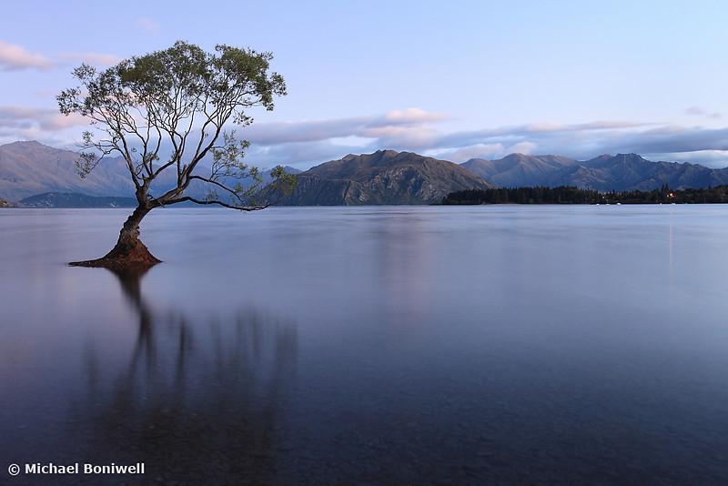Lake Wanaka Pre-Dawn, South Island, New Zealand
