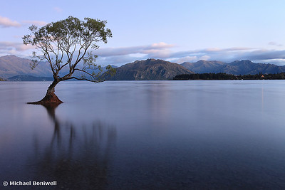 Lake Wanaka Pre-Dawn, South Island, New Zealand