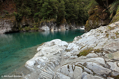 """Blue Pools"", West Coast, South Island, New Zealand"
