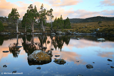 Tarn Reflections, Cradle Mountain National Park, Tasmania