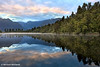 Lake Matheson Dawn, West Coast, South Island, New Zealand