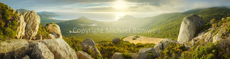 "Mount Bishop, Wilsons Promontory, Victoria, Australia. <a href=""mailto:michael.boniwell@gmail.com"">Email</a> to order a print or commercial use license."