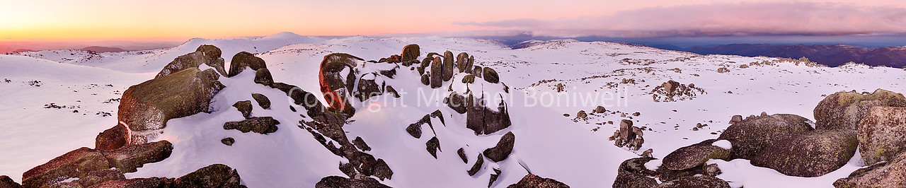"Summit from North Rams Head, Mt Kosciuszko, New South Wales, Australia. Can be printed several metres wide. <a href=""mailto:michael.boniwell@trendlogic.com.au"">Email</a> to order a print or commercial use license."