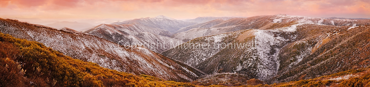"Mt Feathertop Sunset, Victoria, Australia. <a href=""mailto:michael.boniwell@trendlogic.com.au"">Email</a> to order a print or commercial use license."