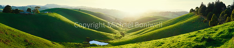 "Green Hills, Gippsland, Victoria, Australia. Can be printed several metres wide. <a href=""mailto:michael.boniwell@gmail.com"">Email</a> to order a print or commercial use license."