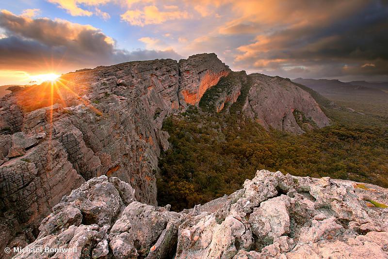 Mt Stapylton, Grampians, Victoria, Australia
