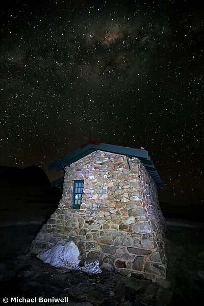 Star Filled Sky, Seamans Hut, NSW, Mt Kosciusko, Australia