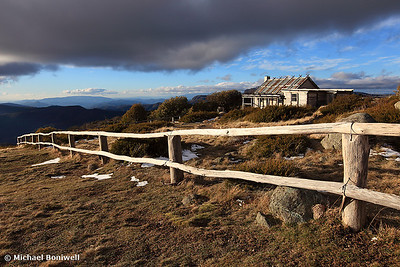 Craig's Hut, Winter Afternoon, Mt Stirling, Victoria, Australia