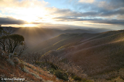 Last of the light, Mt Hotham, Victoria