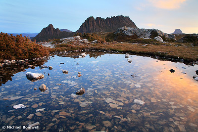 Cradle Mountain Tarn Sunset, Tasmania