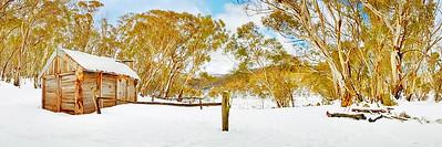 Cascade Hut, Kosciuszko National Park, New South Wales, Australia