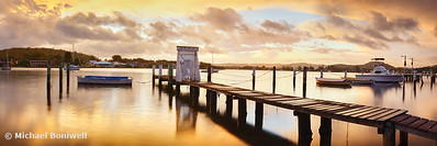 Davistown Jetty, New South Wales, Australia