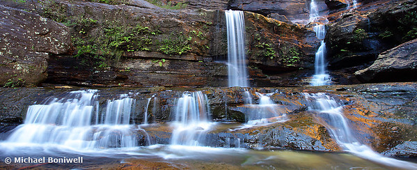 Upper Wentworth Falls, Blue Mountains, New South Wales, Australia