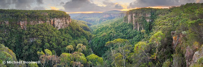 Valley View, Budderoo National Park, New South Wales, Australia