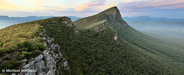Sentinel Peak guards the Twilight, Grampians, Victoria, Australia