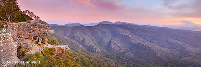 Balconies Twilight, Grampians National Park, Victoria, Australia