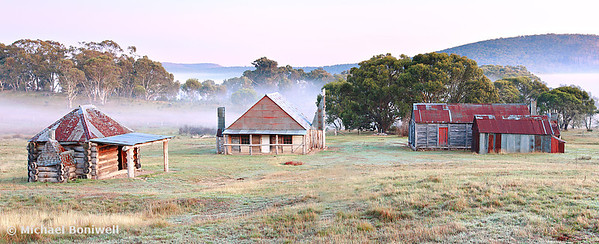 Coolamine Homestead, Kosciusko National Park, NSW, Australia