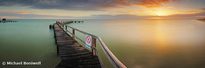 """No Diving"", Mornington Peninsula, Victoria, Australia"