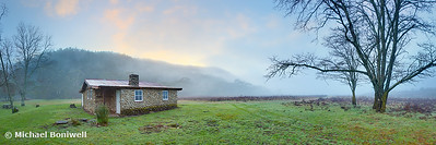 Keebles Hut, Kosciuszko National Park, New South Wales, Australia