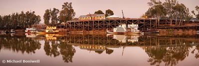 Echuca Wharf, Victoria, Australia