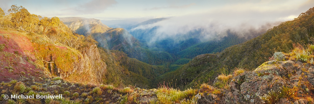 Dimmicks Lookout, Alpine National Park, Victoria, Australia