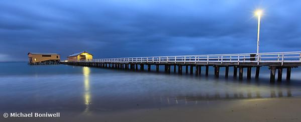 Queenscliff Pier Pre-dawn, Victoria, Australia