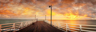 Shorncliff Pier, Brisbane, Queensland, Australia