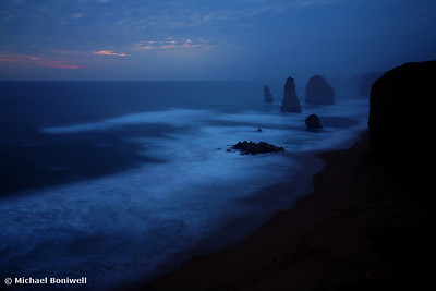 """The Twelve Apostles"" Dusk, Great Ocean Rd, Victoria."