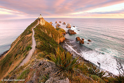 Fading Light, Nugget Point, South Island, New Zealand