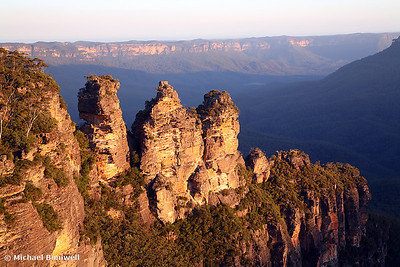 The Three Sisters, Blue Mountains, NSW.