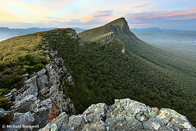Sentinel Peak guards the Twilight, Grampians, Victoria, Australia