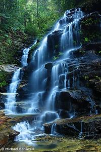 Syliva Falls, Blue Mountains, New South Wales, Australia