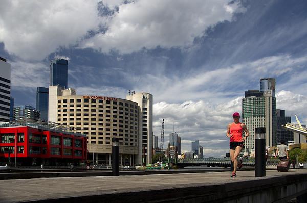 Melbourne-Southgate-Yarra River walk 10