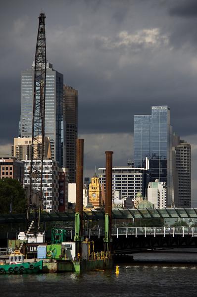 Melbourne-Southgate-Yarra River walk 15