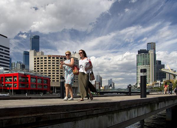 Melbourne-Southgate-Yarra River walk 09