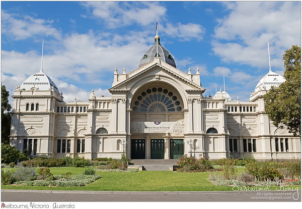The Royal Exhibition Building, UNESCO world heritage site, in Melbourne, Australia