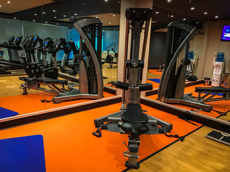 pullman melbourne on the park fitness