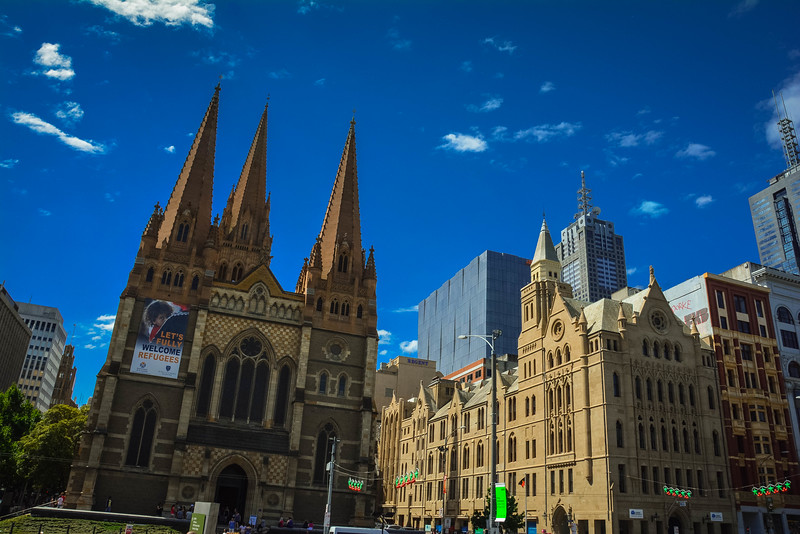st pauls cathedral melbourne cbd