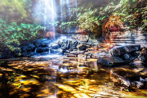 Leask Creek Falls