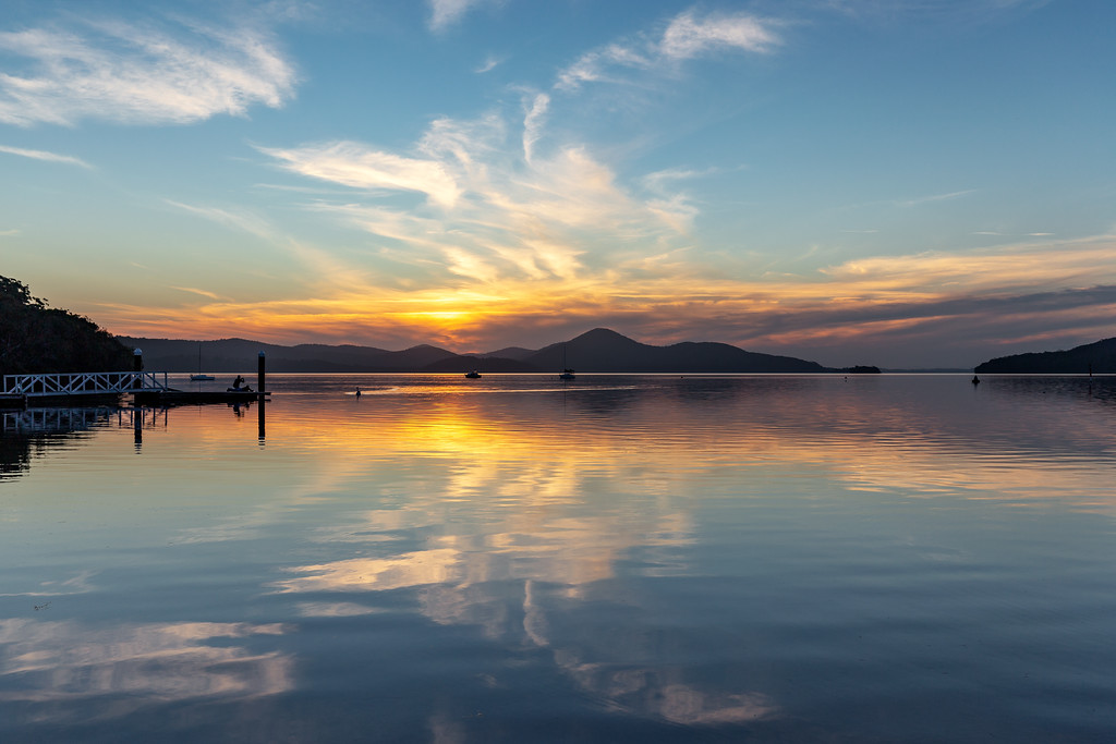 Wallis Lake Sunset